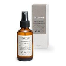 Erbaviva Organic Deodorant Jasmine & Grapefruit 110ml 3.5 Oz Organic Skincare