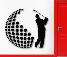 Wall Stickers Vinyl Decal Golf English Sports For Living Room Decor (ig1556)