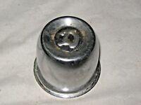 A Vintage Steel Chrome Wheel Centre Cap with Letter D (Datsun, Daimler, Dodge ?)