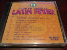 LATIN FEVER KARAOKE VIDEO CD VCDLF-011 VOLUME 11 POP BALADAS 12 TRACKS