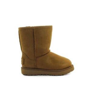 Ugg Classic Weather Short Ii Baby Chestnut Boot  Kids