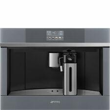SMEG CMS4104S luxury built-in coffee machine Silver, free ship Worldwide