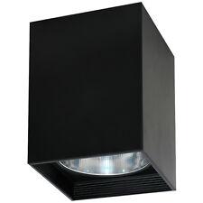 élégant Plafonnier Noir E27 lumière COUVERTURE plafonnier NEUF intérieur spot
