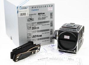 Ex++ Japan Star Hasselblad 501cm Medium Format SLR Camera + A12 Film Back w/Box