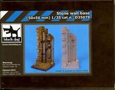Blackdog Models 1/35 STONE WALL Resin Display Base