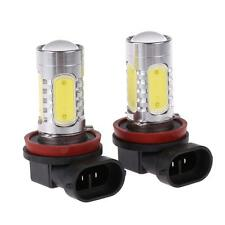 H11 H16 BRIGHT LED Fog Light Bulbs 1200 Lumens!  Globes 12 Month OZ Warranty