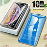 10D Full Cover Tempered Glass Displayschutzfolie für iPhone X Xs Max Xr 8 7 Plus