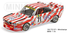 MINICHAMPS 155772571 - BMW - 3.0 CSL TEAM LUIGI RACING N 71 24h LE MANS 1977