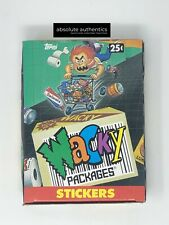 1991 Topps Wacky Packages Full Box 48 ct Wax Packs 5 Cards Per Vintage Original
