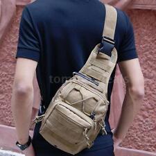 New Outdoor Sling Bakpack Military Tactical Shoulder Bag Traveling Climing O6M2