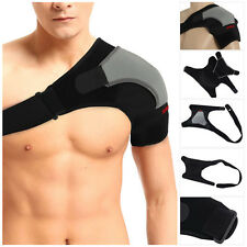 Left Shoulder Support Strap Neoprene Pain Injury Arthritis Gym Sport