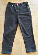 Gloria Vanderbilt jeans. Black. Medium. Size 8.