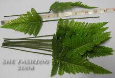 Artificial Foliage FERN Leave LONG STALK Green 50pcs
