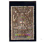 Argentina valor Fiscal del año 1920 (AO-133)