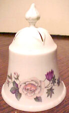 Gorgeous Danbury Mint Royal Grafton Bone China Floral Bell Made In England Mint
