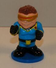 """2005 Mini Cyclops 2"""" MGA Action Figure on Stand X-Men Marvel Comics"""