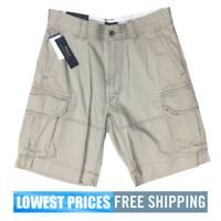 Polo Ralph Lauren Men's NWT Hudson Tan Cargo Shorts Free Shipping MSRP $79