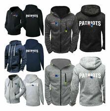 New England Patriots Hoodie Football Hooded Sweatshirt Fleece Jacket Fans Gift