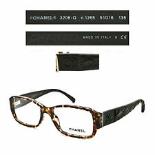 CHANEL 3208-Q c.1265 Eyeglasses 51/16/135 Rx - Made in Italy - Authentic New