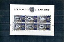 1937 San Marino Zeppelin Post Ss cinderella gum Great Replica