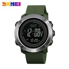 SKMEI Altimeter Barometer Men Sports Digital Wrist Watch Climbing Hiking 1418 9