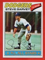 1977 Topps #400 Steve Garvey NEAR MINT+ PD Los Angeles Dodgers FREE SHIPPING