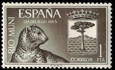RIO MUNI 54 (Mi67) - African Leopard and Coat of Arms (pa82095)