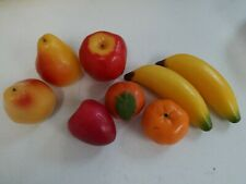 Fake Bunch Artificial Plastic Fruits Decor Kitchen Cabinet Photo Props US