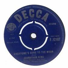 "Jonathan King - Everyone's Gone To The Moon - 7"" Vinyl Record Single"
