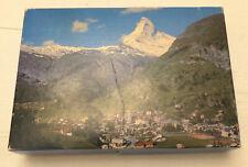 Vtg Springbok Matterhorn Switzerland Jigsaw Puzzle Complete 350 Pc Worlds Wonder