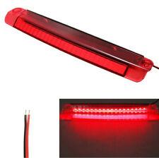 Car 18 LED Tail Third Brake Stop Reversing Light Rear High Mount Lamp Red 12V