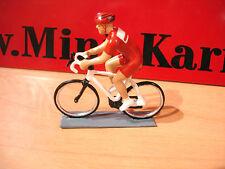 CBG MIGNOT cycliste Tour de france  CONTEMPORAIN rouge  cyclist TOY SOLDIER