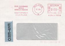 O301 Theme CHIEN enveloppe flamme ENTE NAZIONALE Della CINOFILIA ITALIANA Milan