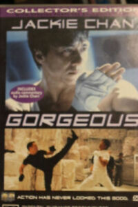 JACKIE CHAN GORGEOUS DVD RARE OOP DELETED MOVIE KUNG FU COLLECTORS EDITION FILM