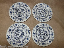 4 Johnson Brothers Blue Nordic Bread Butter Plates Ironstone England