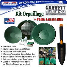 Kit Orpaillage Garrett + Pelle Abs - Recherche d'Or en rivières - Gold Pan