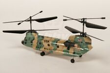 Nine Eagles 227A Twingo 2.4GHz coaxial Tandem heli Bind & Fly (verde militare)