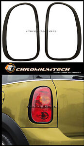 BLACK Taillight Rear Light Surround for BMW MINI Countryman R60 Cooper/S/ONE/JCW