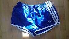 Adidas Shiny Nylon Sprinter Shorts West Germany Glanz Size Large D6
