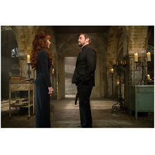 Supernatural Mark Sheppard As Crowley Chats With Ruth Connell 8 x 10 Inch Photo