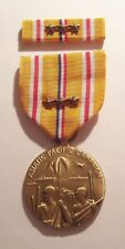 WW II Asiatic Pacific Campaign Medal with Ribbon 3 BATTLE STARS