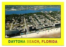 Daytona Beach Florida Postcard Miles of White Sandy Beaches Bridge Swimming Pool