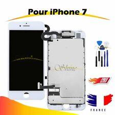 ECRAN POUR IPHONE 7 COMPLET VITRE TACTILE LCD RETINA SUR CHASSIS BLANC + OUTILS
