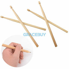 4pcs Drumstick Pencils 2 Pairs 100% log processing Wooden Musical Drum Pencil