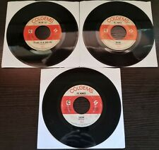Lot of 3 THE MONKEES Colgems Label Records 45RPM (Used)