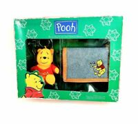 Vintage Accessory SET Disney Winnie The Pooh Coin Purse & Trifold Wallet NEW