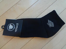 NWT Men Versace Black Socks