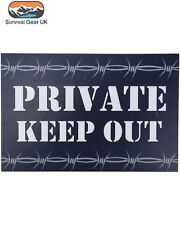 Private Keep Out Wooden Wall/ Door Plaque/ Sign Children's/ Kids Room