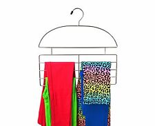 Axis Pant and Legging Organizer Hanger Chrome Steel - Great For Kids Pants Jeans
