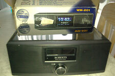ROBERTS WM-201 Wi-Fi Internet Radio  in Black  boxed (NO REMOTE!!!!!)